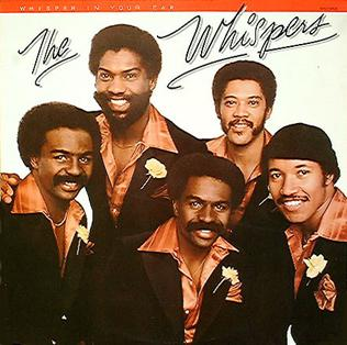 <i>Whisper in Your Ear</i> 1979 studio album by The Whispers