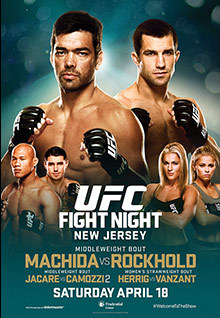 Fight Night New Jersey: Machida vs Rockhold - Resultados, videos y bonus de la noche