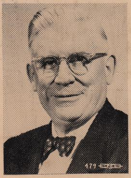 Harry M. Wicks as he appeared shortly before his death in 1956.