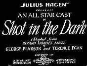 <i>A Shot in the Dark</i> (1933 film) 1933 film by George Pearson