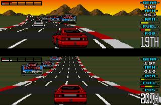 Amiga Lotus Esprit Turbo Challenge - Videojuegos de coches