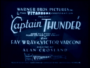 <i>Captain Thunder</i> (film) 1930 film by Alan Crosland