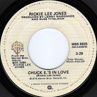 Chuck E.s In Love 1979 song performed by Rickie Lee Jones