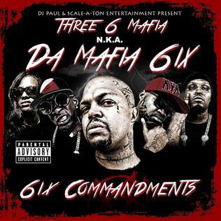 <i>6ix Commandments</i> 2013 mixtape by Da Mafia 6ix