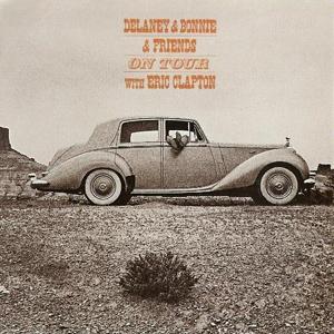 <i>On Tour with Eric Clapton</i> 1970 live album by Delaney & Bonnie & Friends