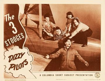 The three stooges dizzy pilots