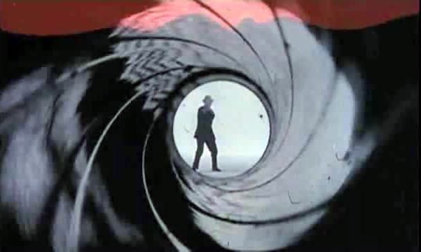 Dr. No opening sequence photo