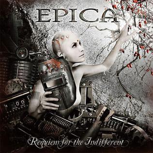 <i>Requiem for the Indifferent</i> 2012 studio album by Epica
