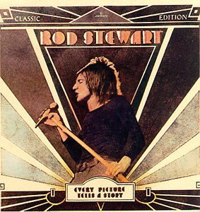 rod stewart album cover