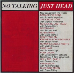 <i>No Talking, Just Head</i> 1996 studio album by The Heads