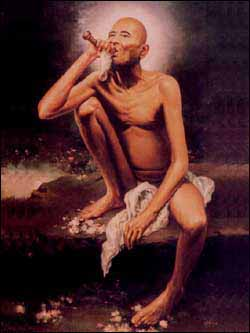 Sant Jai Gajanan Maharaj smoking chillum Wallpapers