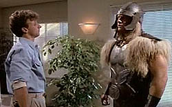 Donald Blake (Steve Levitt) and Thor (Eric Allan Kramer) from The Incredible Hulk Returns. Thor from Hulk Returns.jpg