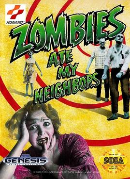 Picture of a game: Zombies Ate My Neighbors