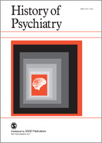 <i>History of Psychiatry</i> (journal) journal