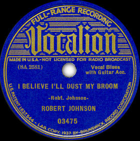 Cover image of song I Believe Ill Dust My Broom by Robert Johnson