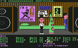 SCUMM scripting language developed at LucasArts