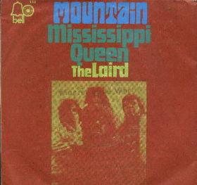翻唱歌曲的图像 Mississippi Queen 由 Mountain