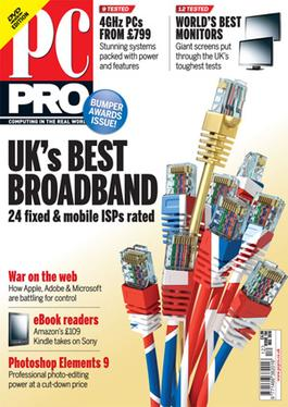 A recent edition of PC Pro magazine, the Decem...
