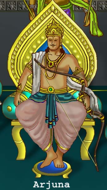 The Third Pandava, Arjuna