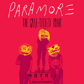 paramore self titled tour poster - photo #30