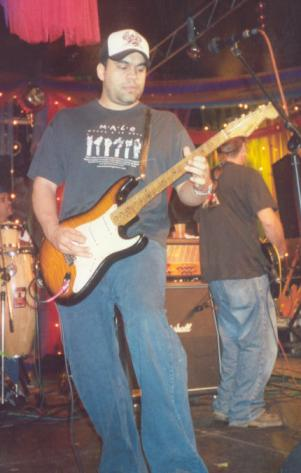 Ricky Laureano playing in Villalba, Puerto Rico (2004)