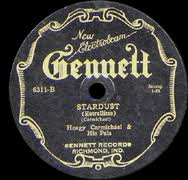 Stardust (1927 song) American popular song