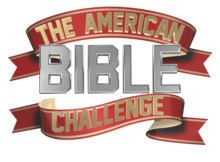 A logo for the American game show The American Bible Challenge