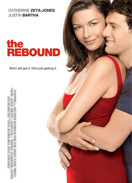 Movie release poster for The Rebound, courtesy the Film Department