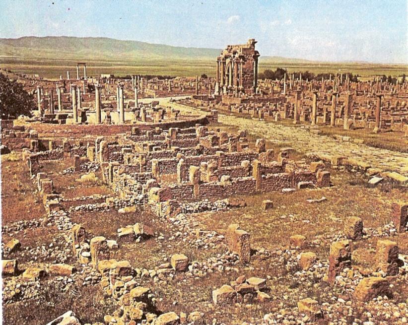 Algunos de los lugares Patrimonio de la Humanidad menos conocidos  Timgad_area