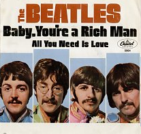 Baby, Youre a Rich Man original song written and composed by Lennon-McCartney