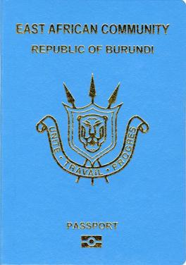 Burundian passport - Wikipedia