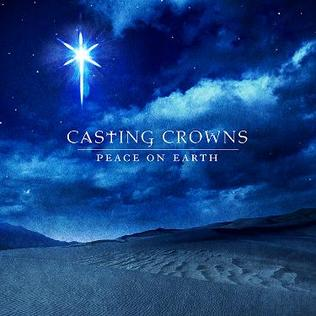 Image result for casting crowns christmas cd peace on earth