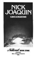 cave and shadows by nick joaquin #ireadanvil new cover alert cave and shadows by nick joaquin soon at national book store and powerbooks store available online at wwwanvilpublishingcom.