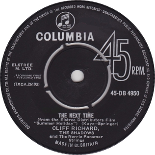 The Next Time 1962 single by Cliff Richard and The Shadows