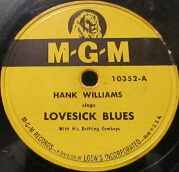 Lovesick Blues 1949 single by Hank Williams
