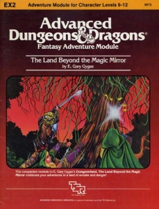 Cover of EX2 The Land Beyond the Magic Mirror