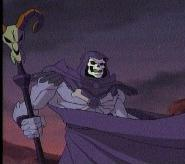 Skeletor as he appeared in the 2002 MYP animated series.