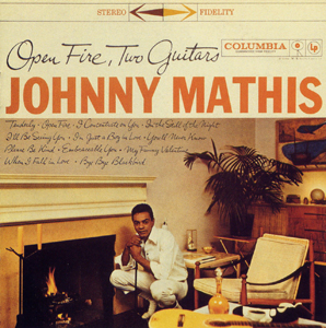 <i>Open Fire, Two Guitars</i> 1959 studio album by Johnny Mathis