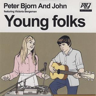 Image result for peter bjorn and john young folks