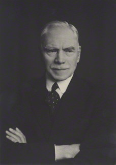A photograph of R. A. Young