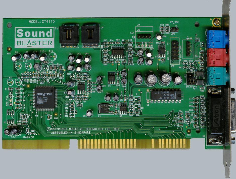Sound Blaster Sound Card Driver Free Download