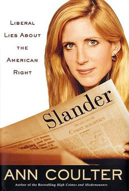 """Slander"" by Ann Coulter. Credit: Wikimedia Commons"