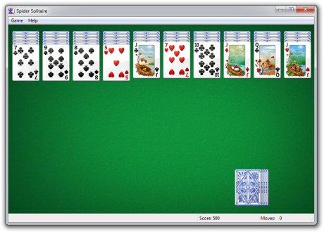 spider solitaire download free