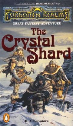 Original cover of The Crystal Shard