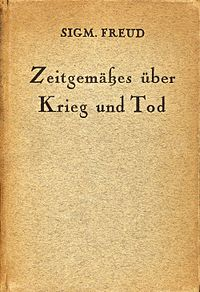 Thoughts for the Time on War and Death, German edition.jpg