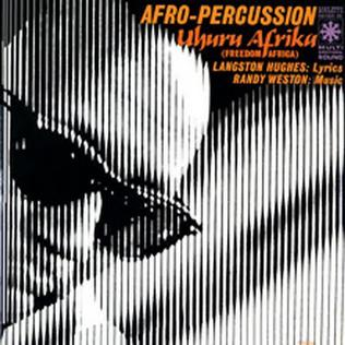 <i>Uhuru Afrika</i> 1961 studio album by Randy Weston