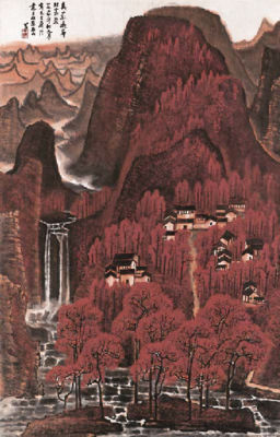 All The Mountains Blanketed in Red by Li Keran AllTheMountainsBlanketedinred.jpg
