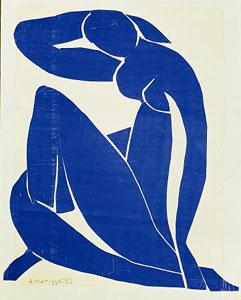 Nu bleu II, 1952 | Henri Matisse