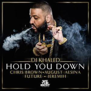DJ Khaled featuring Chris Brown, August Alsina, Future, and Jeremih — Hold You Down (studio acapella)