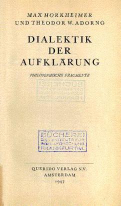 Dialectic of Enlightenment - Theodor W. Adorno, Max Horkheimer.pdf (PDFy mirror)